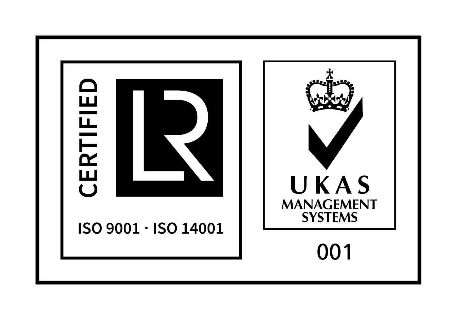 ISO 9001 and 14001