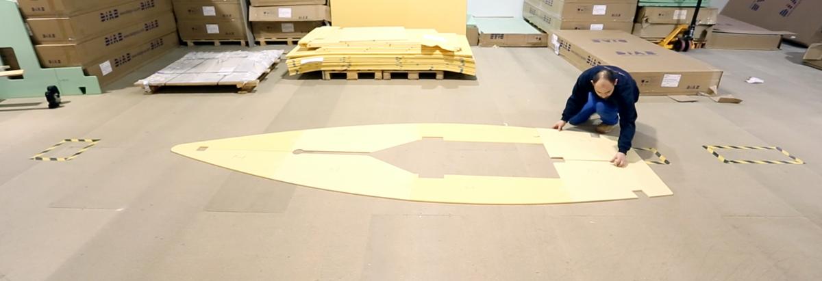 dinghy-foam-core-kit